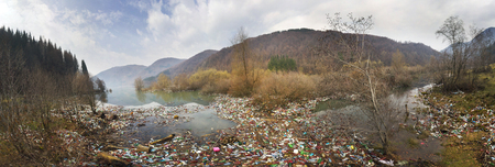 carpathians: poor culture of consumption to achieve the progress of modern civilization gives a negative impact on the surrounding nature. Ecological catastrophe in the background of Carpathians