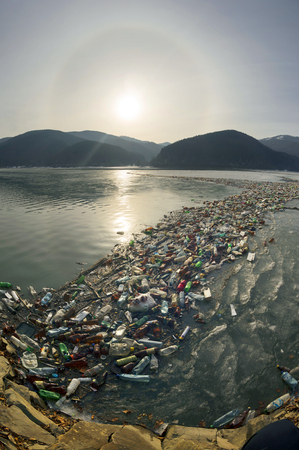 If people do not cease to use plastic disposable plastic dishes, then the seas and oceans of Europe will be polluted by waste of modern civilization