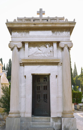 mausoleum: Mausoleum at the cemetery for nobles