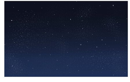 Night sky with star pattern design.