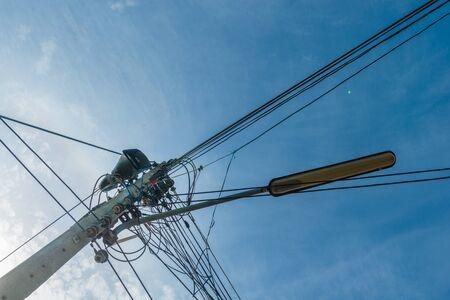 'power line': power line electricity