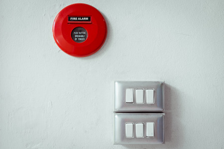dimmer: dimmer and fire alarm