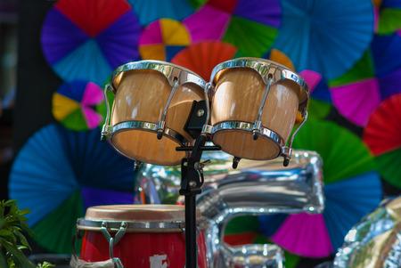 bongos:  bongo drum