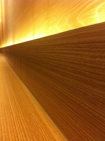 surface: Wood surface and warm light