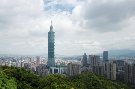 atraction: Taipei skyscraper city view point