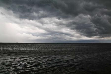 begining: Begining of storm