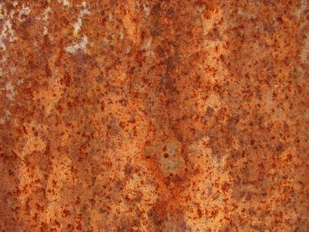 Close up of rusted red metal water tank surface Stock Photo - 3278412