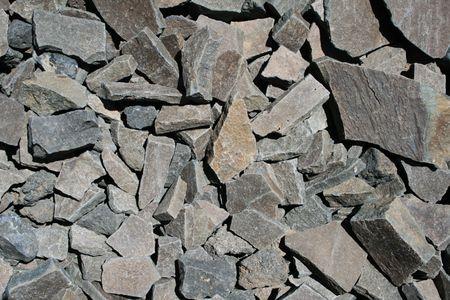 broken gray angular andesite rock background