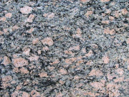 two feldspar granite with pink, white, and black crystals