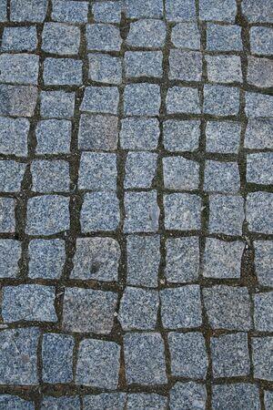 cubed granite paver stone background Stock Photo - 3443835