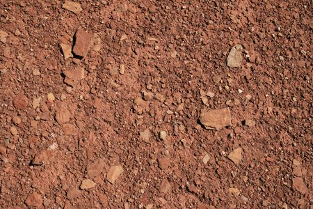 mixed red shale and sandstone soil background Stock Photo - 3577924