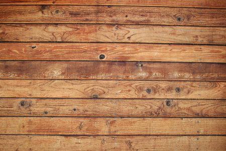 Holz Board Wand mit knorrigen hölzernen Planken
