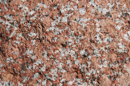 pink feldspar granite rock surface Stock Photo - 3577890