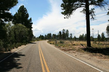 road in northern Arizona Stock Photo - 3672293