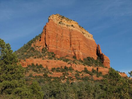 red sandstone cliffs near Sedona, Arizona Stock Photo - 3691488