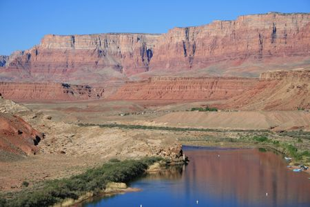 Lees Ferry on the Colorado River in northern Arizona