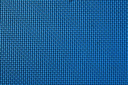 non skid: close up of the surface of a textured blue play mat Stock Photo