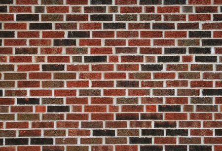 flat red brick wall background Фото со стока