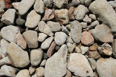 cobble: arrotondati sfondo grigio calcare cobble