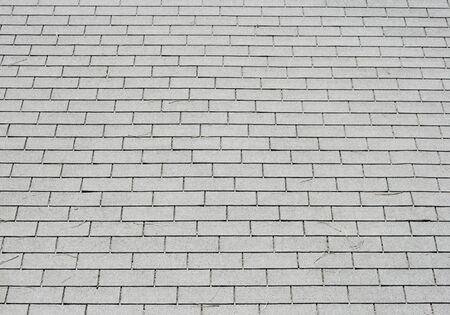 Gray shingle roof background