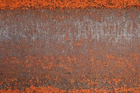 red rusted iron metal grunge background texture Stock Photo - 5077910
