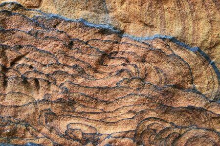 sandstone: sandstone background surface with interesting lines and texture  Stock Photo