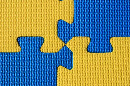 padding: blue and yellow padded child play mat background