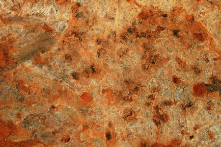 rusty iron metal background with flaking and pitting Stock Photo - 6599732