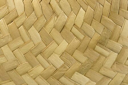 macro of the woven brim of a straw hat Stock Photo - 7247819