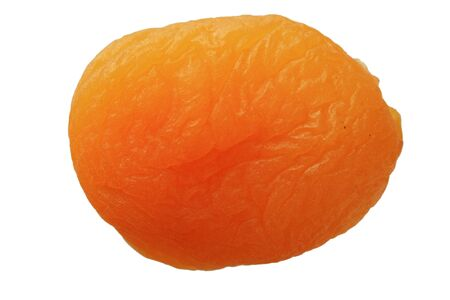 dried orange apricot isolated on white Stock Photo - 7361083