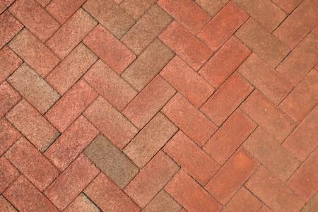 red brick herringbone background texture Stock Photo