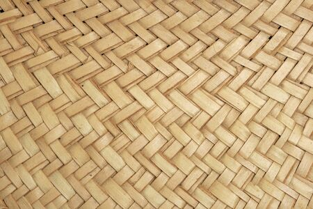 woven tan straw hat detail for background texture Stock Photo - 7912723