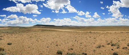 panorama of South Pass wyoming where many trails crossed the Continental Divide