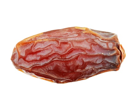 dried medjool date isolated on white background Stock Photo - 8564399