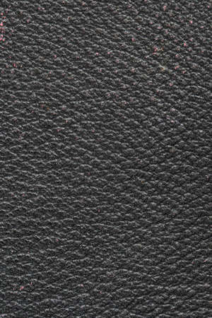 black textured background: old black leather close up background texture