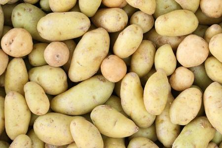 画像を埋める多くのミニ ジャガイモの背景 写真素材 - 9358154