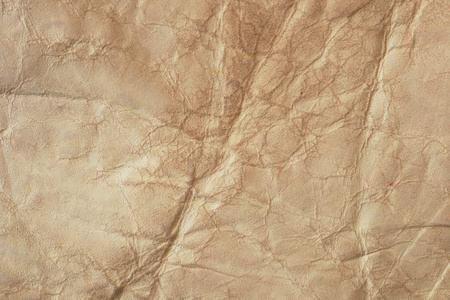 背景のフリースからしわくちゃの皮
