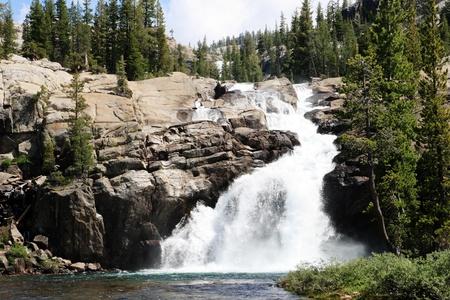 Tuolumne Falls waterfall on the Tuolumne River in Yosemite National Park Stock Photo - 11454387