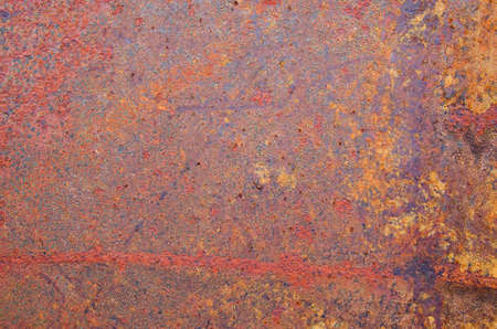 corroded: red and orange rusty corroded metal background texture Stock Photo