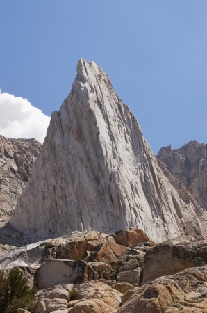 incredible: the incredible hulk rock formation in the Sierra Nevada mountains