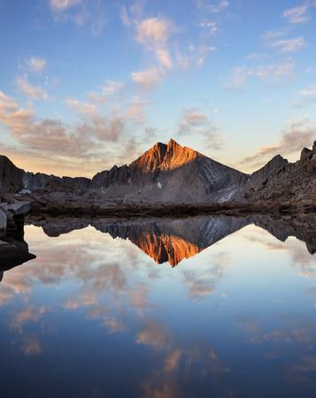 gables: Sierra Nevada White Bear Lake Seven Gables Mountain reflection landscape