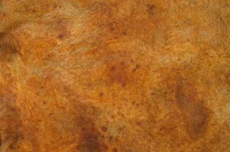 iron oxide: rusty red stained concrete floor background texture