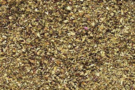 macro background image of dried basil flakes herb Stock Photo - 24878849