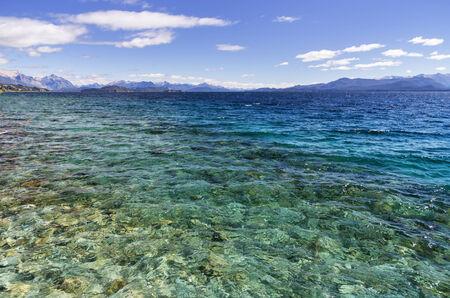 lake nahuel huapi: Lake Nahuel Huapi from San Carlos De Bariloche Argentina