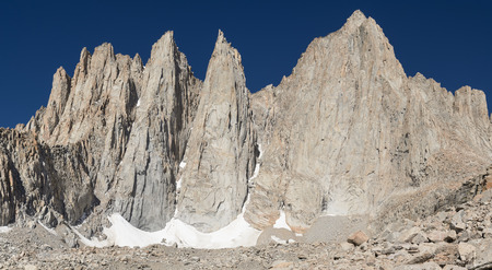 contiguous: Mount Whitney the highest peak in the contiguous 48 states