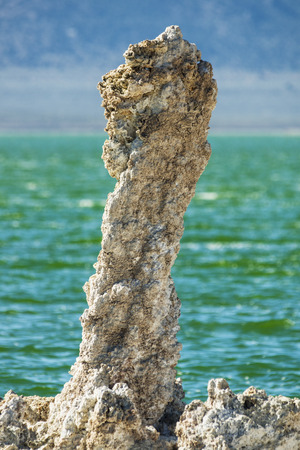 tufa tower at Mono Lake in California