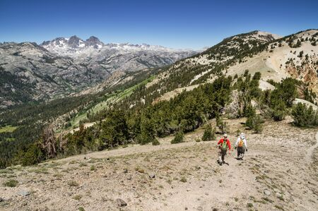 mammoth lakes: a couple hikes out San Joaquin ridge near Mammoth Lakes California