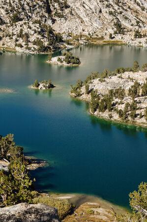 kings canyon national park: Rae Lake in Kings Canyon National Park Stock Photo