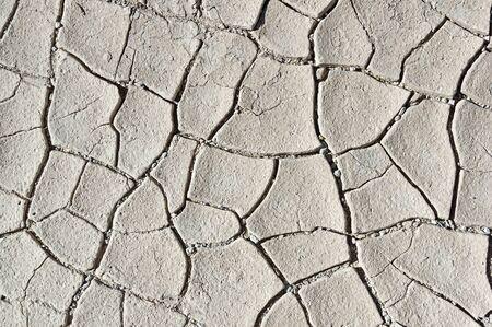encogimiento: secado contracci�n grietas de barro de fondo en el desierto