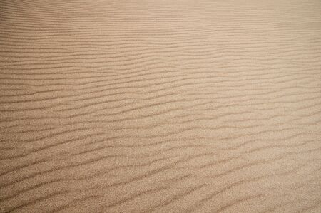 sand ripples in Great Sand Dunes National Park Stock fotó